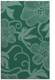 rug #618625 |  blue-green natural rug