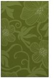 rug #618693 |  green natural rug