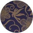 rug #619029 | round beige natural rug