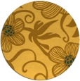 rug #619225 | round light-orange natural rug