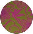 rug #619249 | round pink rug