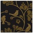 rug #619741 | square black graphic rug
