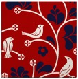 rug #619865 | square red rug