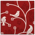 rug #619873 | square red graphic rug