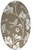 rug #619980 | oval graphic rug