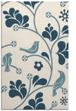 rug #620353 |  blue-green graphic rug
