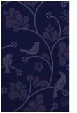 rug #620413 |  blue-violet natural rug