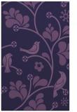 rug #620425 |  purple graphic rug