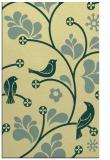 rug #620533 |  yellow graphic rug