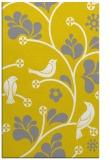 rug #620629 |  yellow graphic rug