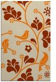 rug #620645 |  orange popular rug