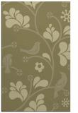 rug #620653 |  light-green natural rug