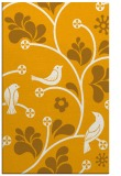 rug #620665 |  light-orange graphic rug
