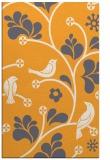 rug #620677 |  light-orange graphic rug