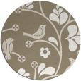 rug #620684 | round natural rug