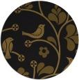rug #620797 | round black natural rug