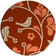 rug #620879 | round graphic rug