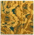rug #621689 | square light-orange animal rug