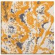rug #621733 | square light-orange animal rug