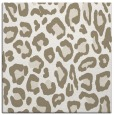 rug #623145 | square white animal rug