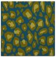 rug #623205   square blue-green animal rug