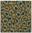 rug #623265 | square mid-brown rug