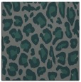 rug #623273 | square blue-green popular rug