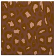 rug #623289 | square brown animal rug