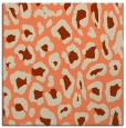rug #623341 | square beige animal rug