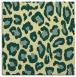 rug #623349 | square yellow animal rug