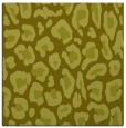 rug #623465 | square light-green animal rug