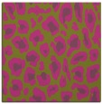 rug #623473 | square light-green rug
