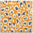 rug #623493 | square light-orange animal rug