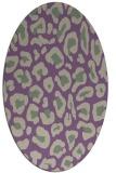 rug #623678 | oval animal rug