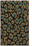 rug #623869 |  mid-brown animal rug