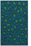 rug #623929 |  blue animal rug