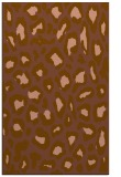 rug #623993 |  mid-brown animal rug