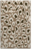 rug #624001 |  mid-brown animal rug