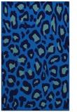 rug #624017 |  blue animal rug