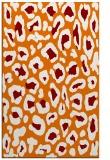rug #624041 |  orange animal rug