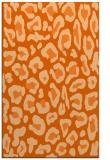 rug #624109 |  red-orange animal rug