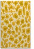 rug #624137 |  yellow animal rug