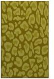 rug #624169 |  light-green animal rug