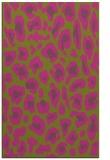 rug #624177 |  light-green animal rug