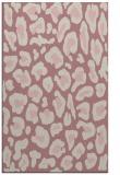rug #624189 |  pink popular rug