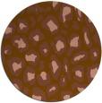 rug #624346 | round animal rug