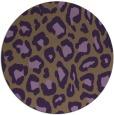 rug #624434   round animal rug