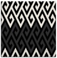 rug #626669 | square black abstract rug