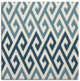 rug #626689 | square white retro rug