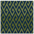 rug #626701 | square blue abstract rug